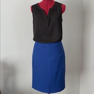 J. Crew No.2 Pencil Skirt. Size 4
